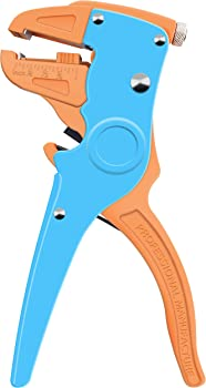 Knoweasy Automatic Wire Stripper and Cutter,Heavy Duty Wire Stripping Tool