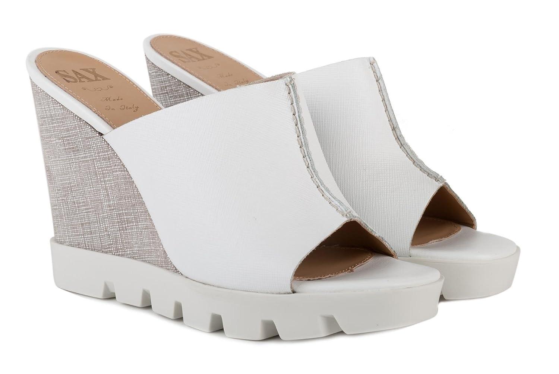 huge selection of 1ab76 da7b9 SAX Scarpe Sandalo Donna 27703 Saffiano Bianco Bianco Bianco ...