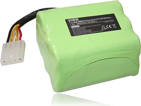 vhbw Batería de repuesto Ni-MH 3500mAh (7.2V) para robot aspirador, aspiradoras, robots Vorwerk VR100, VX100 y Neato Robotics.: Amazon.es: Hogar