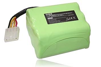 vhbw Batería de Repuesto Ni-MH 3500mAh (7.2V) para Robot Aspirador,
