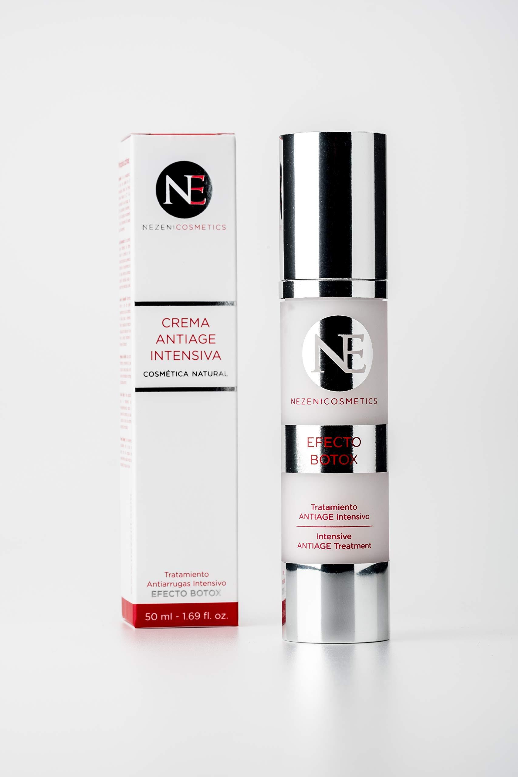 Nezeni Crema Antiarrugas Tratamiento Antiage Intensivo 50 ml - BAJO CONSERVANTES 2 años caducidad cerrado product