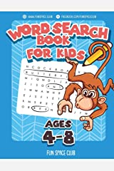 Word Search Books for Kids Ages 4-8: Word Search Puzzles for Kids Activities Workbooks 4 5 6 7 8 Year Olds (Fun Space Club Games Word Search Puzzles for Kids) Paperback