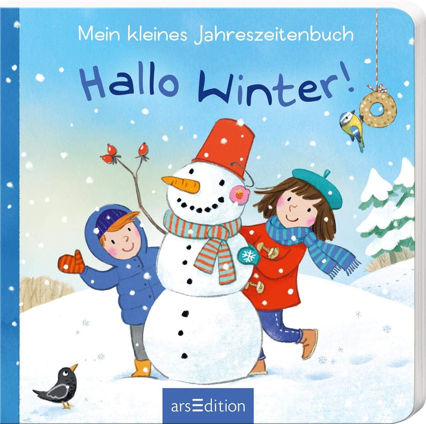 Mein Kleines Jahreszeitenbuch Hallo Winter Leykamm Martina Bücher