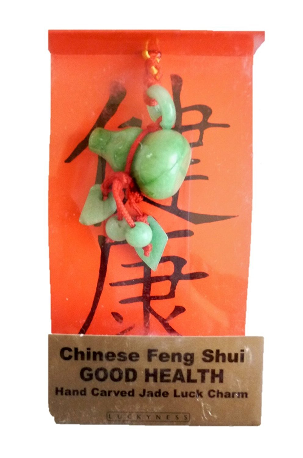 Happiness Zorbitz Hand-Carved Feng Shui Jade Charms