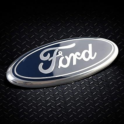 "1 PC For 2005-2014 F-150 Front Grille Grill Black Oval 9/"" Emblem Badge Logo"