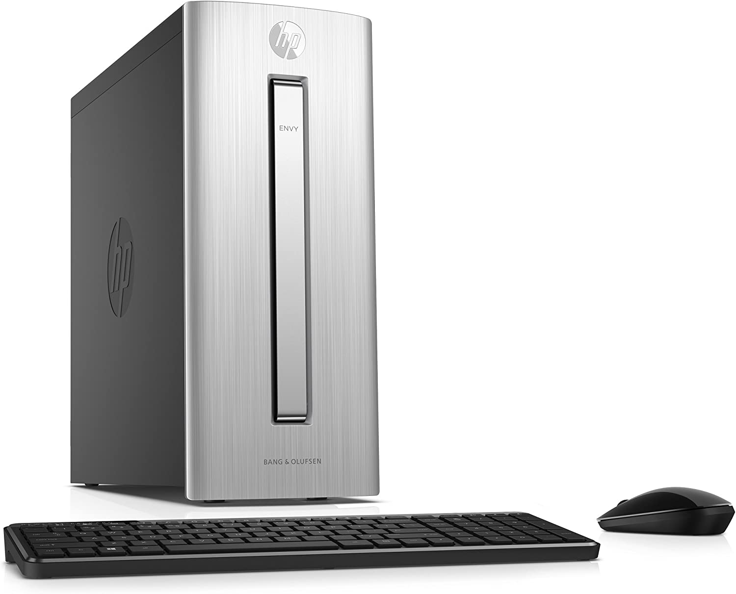HP Envy 750-514, Intel Core i5-7400, 12GB, 128GB SSD+1TB HDD, Desktop PC (Renewed)