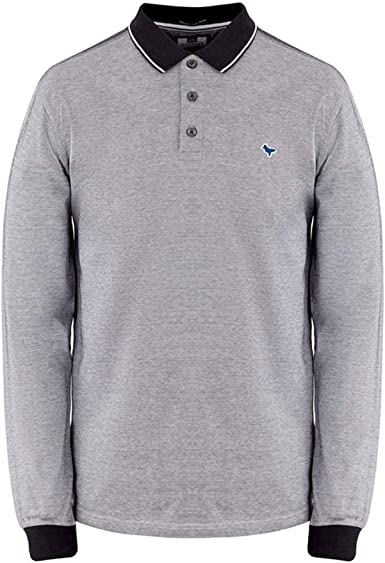 Weekend Offender Herrera - Polo de Manga Corta, Color Blanco y ...