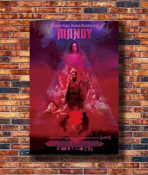 MANDY Movie Art Silk Poster Canvas Print