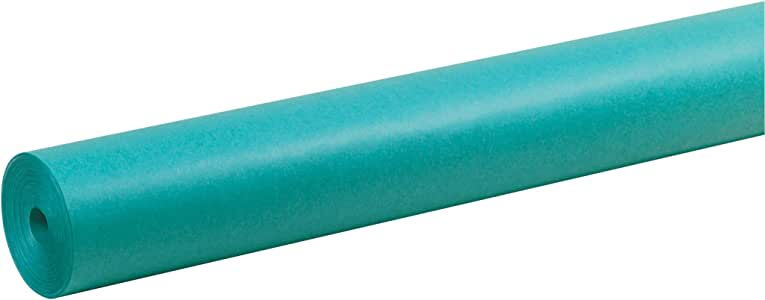 ArtKraft Duo-Finish Paper Roll P67164, 4-feet by 200-feet, Aqua, 1 Roll