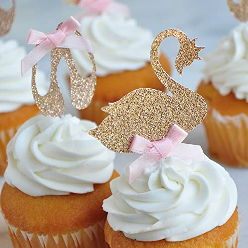 Amazon Swan Lake Cupcake Toppers Set Of 12