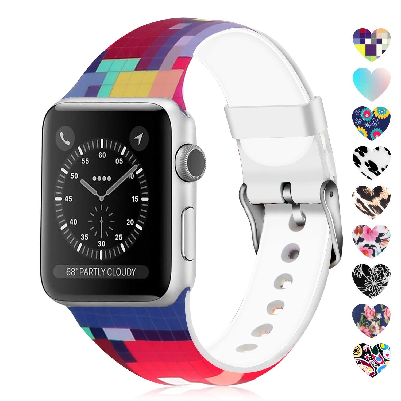 Malla Silicona para Apple Watch (42/44mm) LWSENGME [T9KBQSQ]