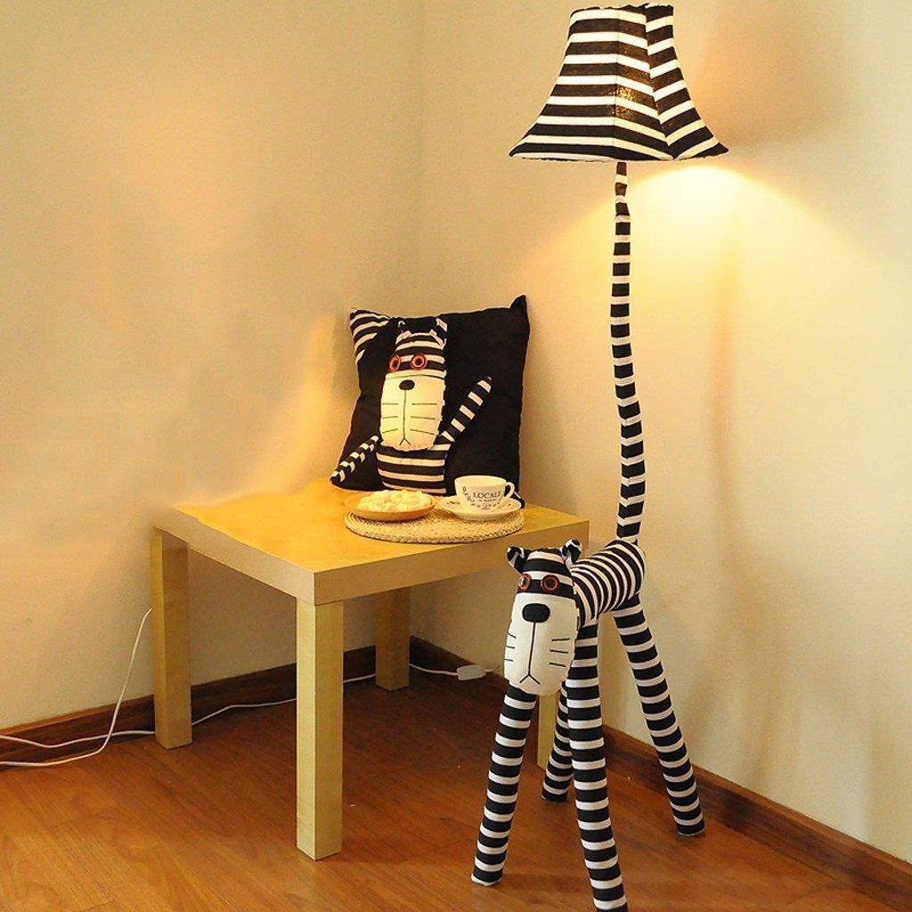 Lampadaire Creative bande dessin/ée lampadaire chat /étoile personnes lampadaire enfants chambre salon lampe de chevet de bande dessin/ée cadeaux A+
