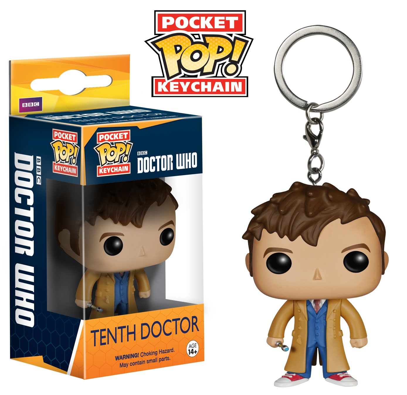 Pocket POP! Keychain - Doctor Who: 10th Doctor