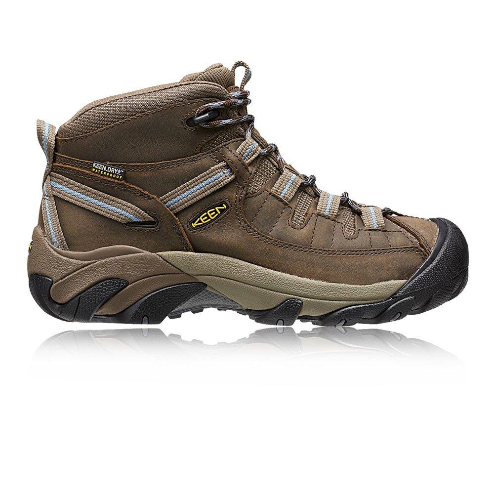 e52782e5f11 KEEN Women's Targhee II Mid Boot,Slate Black/Flint Stone,US 8.5 M