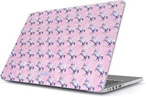 Glitbit Hard Case Cover Compatible with MacBook Air 13 inch Case Release 2018-2019 Model: A1932 / A2179 with Retina Display and Touch ID Makeup Glam Queen Artist MUA Emoji Lip Lipstick Glitter Addict