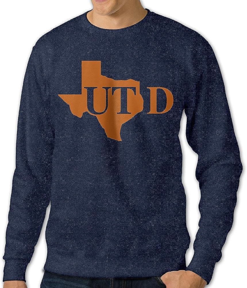 Show Time Men's University Of Texas At Dallas Long Sleeve Sweatshirt Navy