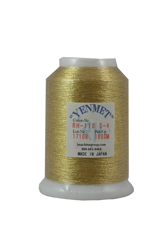 Yenmet Metallic EmbroideryThread 1000 meters (S14) Amman