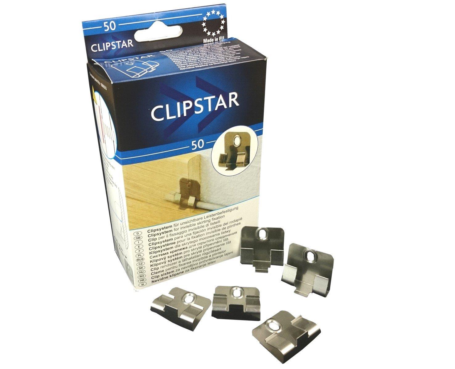 Sockelleisten Clip, Sockelleisten Clip Clipstar Sockelleisten Clip