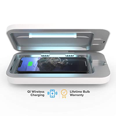 PhoneSoap Wireless UV Smartphone Sanitizer & Qi Charger
