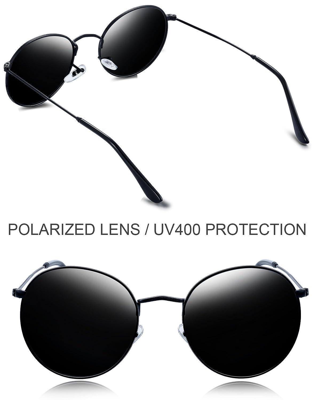 ff84deb47d Joopin-Men Retro Brand Polarized Sunglasses Women Vintage Round Sunglasses  as the pictures) E3447-08