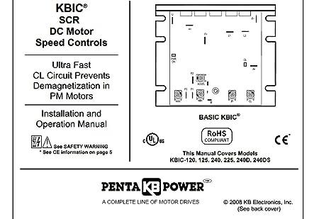 kb electronics kbic-240d dc motor control 9464 upc 024822093385 - -  amazon com