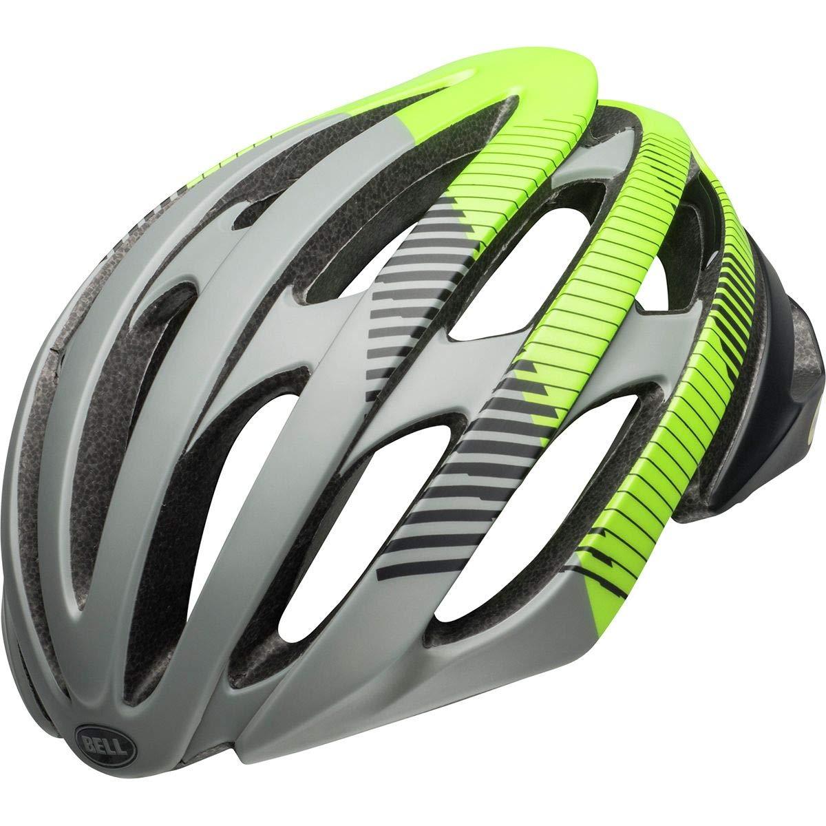 Bell Stratus MIPS Cycling Helmet - Bluster Matte Gray/Black/Green Small
