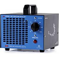 Airthereal MA5000 5.000Mg/H Générateur D'ozone de Commercielle D'ozone avec Minuteur pour Chambre, Fumée, Voitures et Animaux Domestiques (Noir)