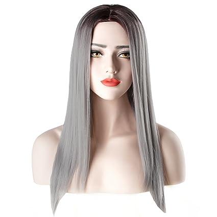Peluca de pelo largo y rizado rubia para fiestas de disfraces, cosplay y fiestas;