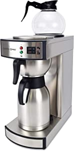 Coffee Pro CP-RLT Dual Brew Commercial Coffee Maker Thermal/Decanter