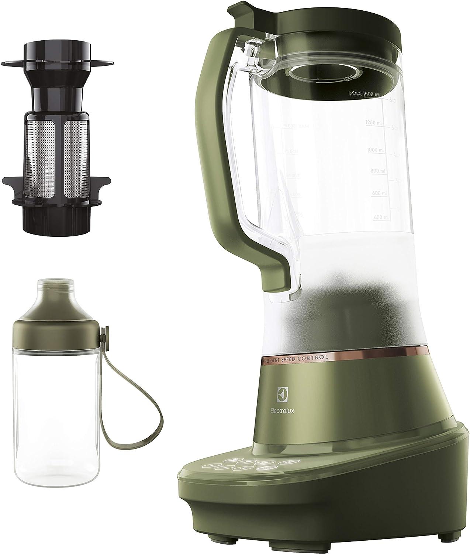 Electrolux E7TB1-6FGM Explore 7 con vaso batidora, 900 W, 1,5 litros, acero, 3 velocidades, verde salvia: Amazon.es: Hogar
