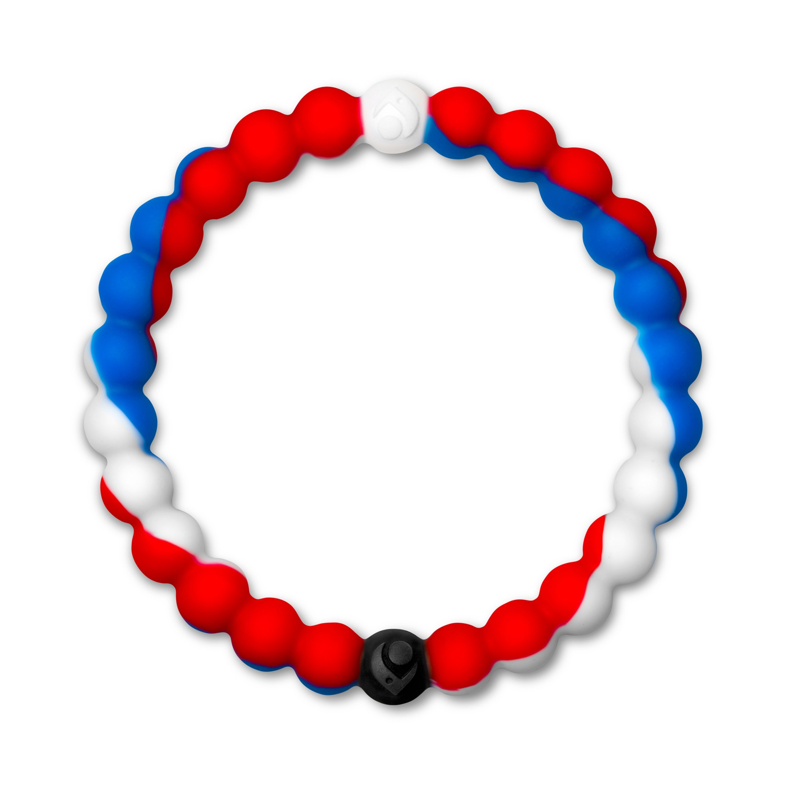 Lokai Wear Your World Cause Bracelet, Blue/Red/White, 6.5'' - Medium by Lokai