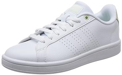quality design 4c116 df4e2 adidas CF Advantage Cl, Chaussures de Fitness Femme, Blanc FtwblaAerver  000,