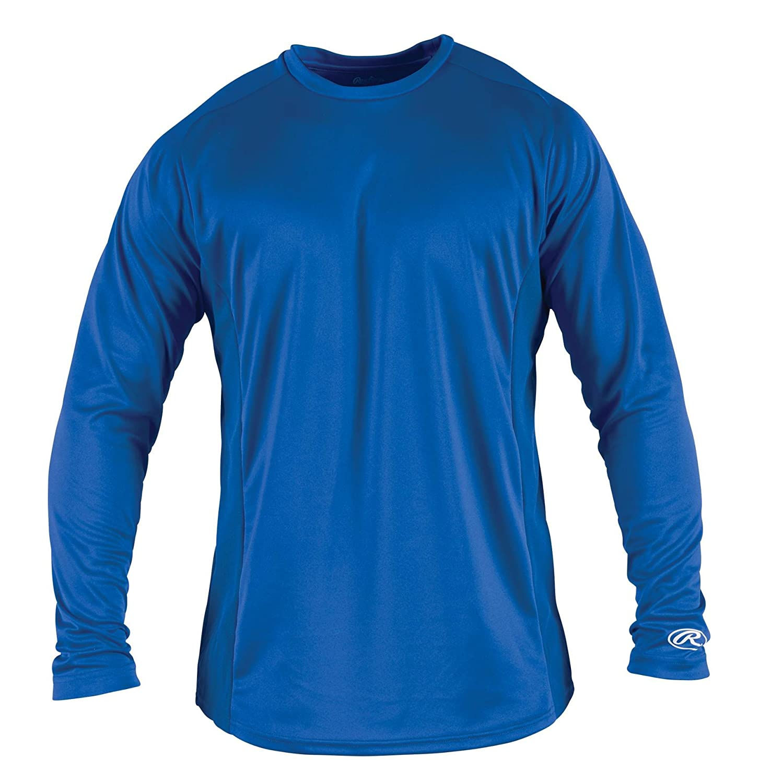 Rawlings Boy 's長袖ベースレイヤーシャツ B00FVT4SEO XL|ロイヤル ロイヤル XL