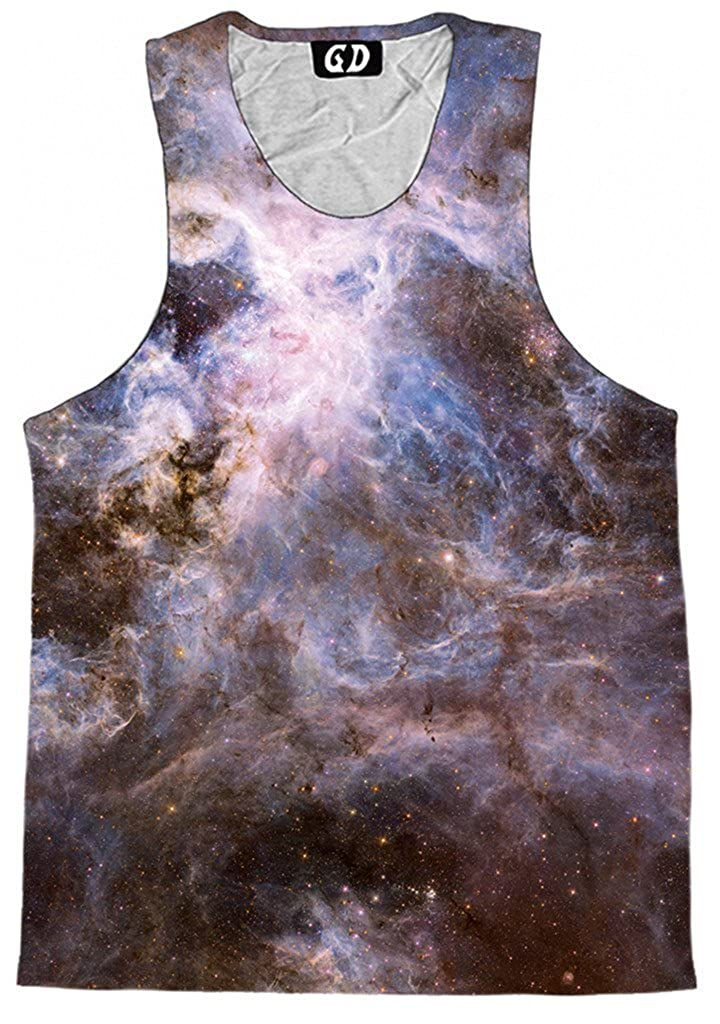 Premium All Over Print Graphic Shirts Interstellar Connection Tank Top