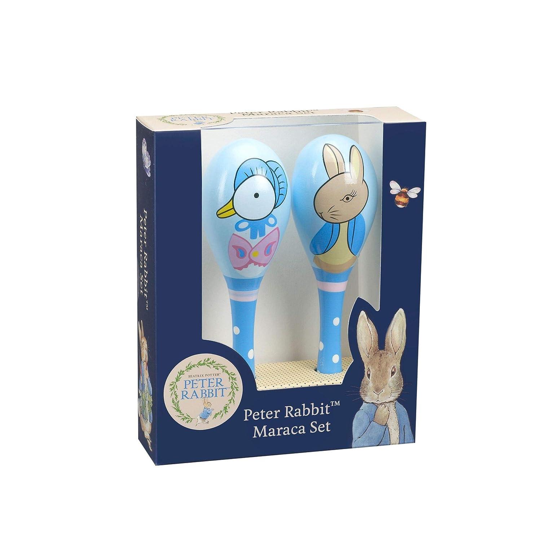 Orange Tree Toys Peter Rabbit - Wooden Maracas Trusty Toys OTT14889