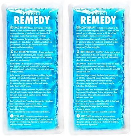 Amazon.com: Paquetes de hielo para lesiones Perfect Remedy ...