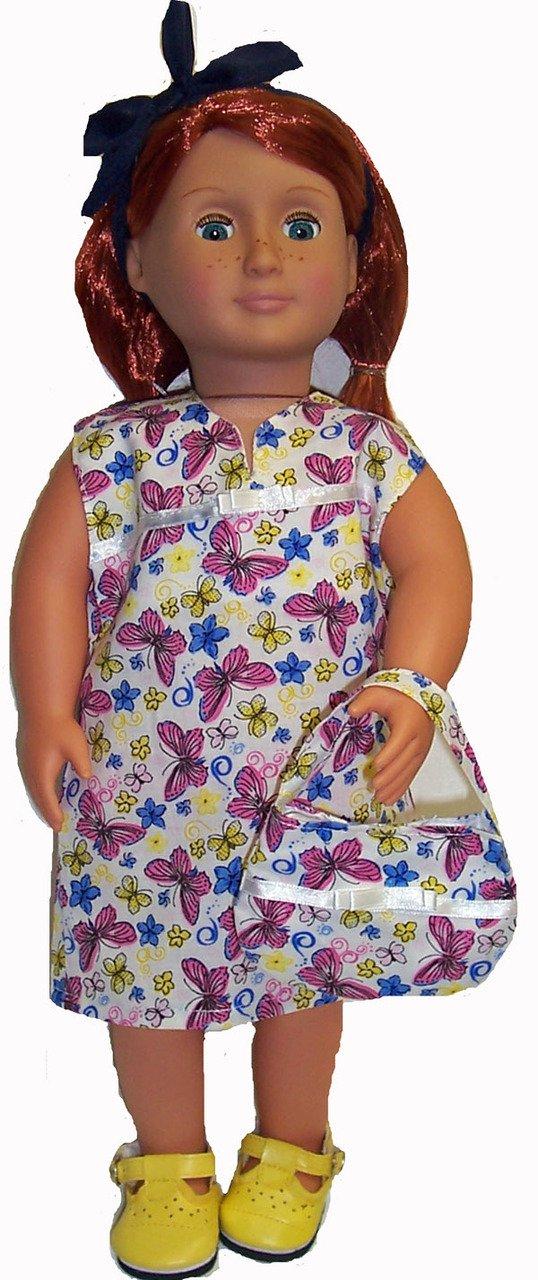 ドレスYour B00YNIBIHE ドレスYour 18インチ人形withこのドレスand Matching Purse Purse B00YNIBIHE, 岡山県:8040a51d --- arvoreazul.com.br