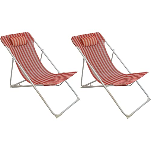 Summer Deck Chairs Amazon Co Uk