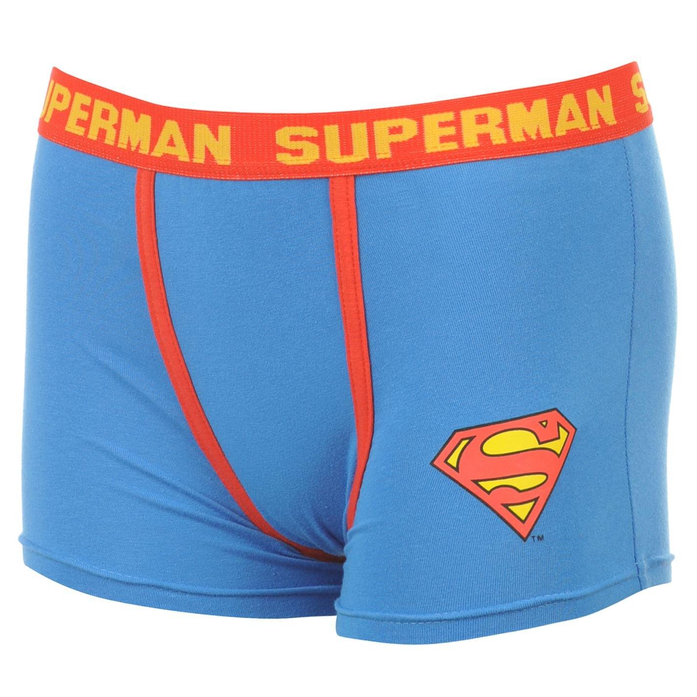 Boxer corti da uomo motivo Superman