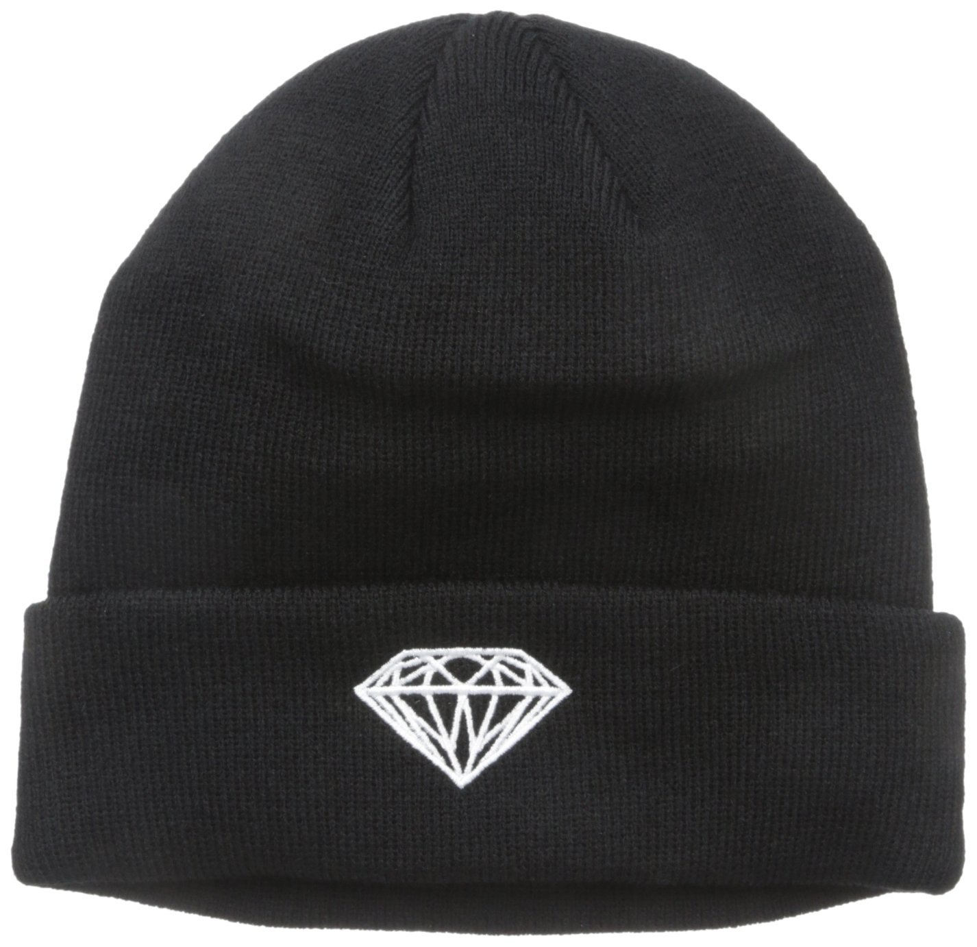 Diamond Supply Co. Men's Brilliant Beanie, Black, One-Size