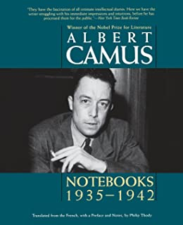 Image result for Notebooks 1935-1959 albert camus