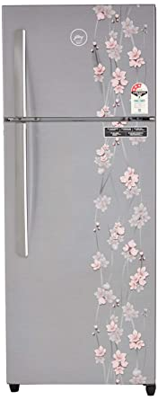 Godrej 261 L 3 Star Frost Free Double Door Refrigerator(RT EON 261 P 3.4, Silver Meadow)