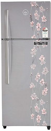 Godrej 261 L 3 Star Frost Free Double Door Refrigerator RT EON 261 P 3.4, Silver Meadow  Refrigerators