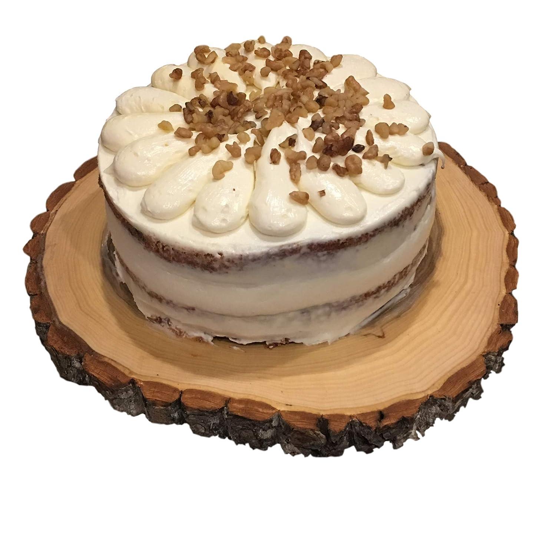 Soporte rústico de madera para tartas de boda, plato para cupcakes ...