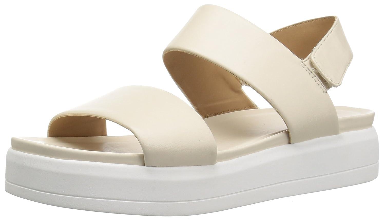 Franco Sarto Women's Kenan Wedge Sandal B078V8TMPP 11 B(M) US|Milk