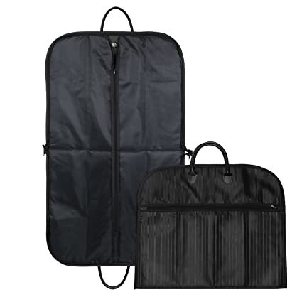 Suit Bags for Men Suit Cover Pack of 2 with Handle Waterproof Travel Garment  Bags Breathable 0a02c1e8b85db