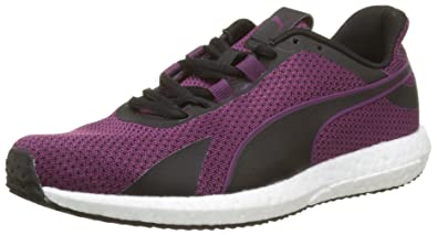 5f0bce3c8813f5 Women s Mega Nrgy Turbo WN s Black-Dark Purple Running Shoes - 4 UK India
