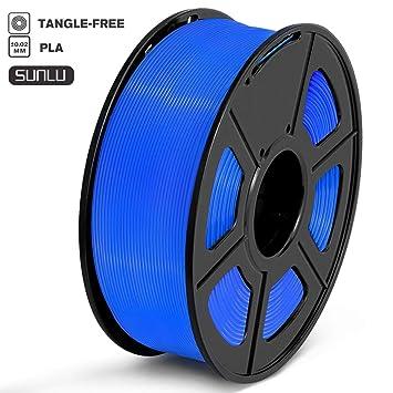 SUNLU Filamento para impresora 3D, filamento PLA, filamento PLA de ...