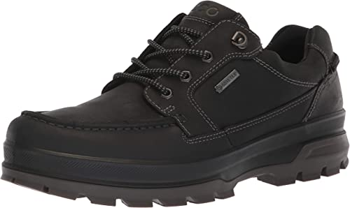 ECCO Men's Rugged Track Gore tex Moc Tie Hiking Shoe