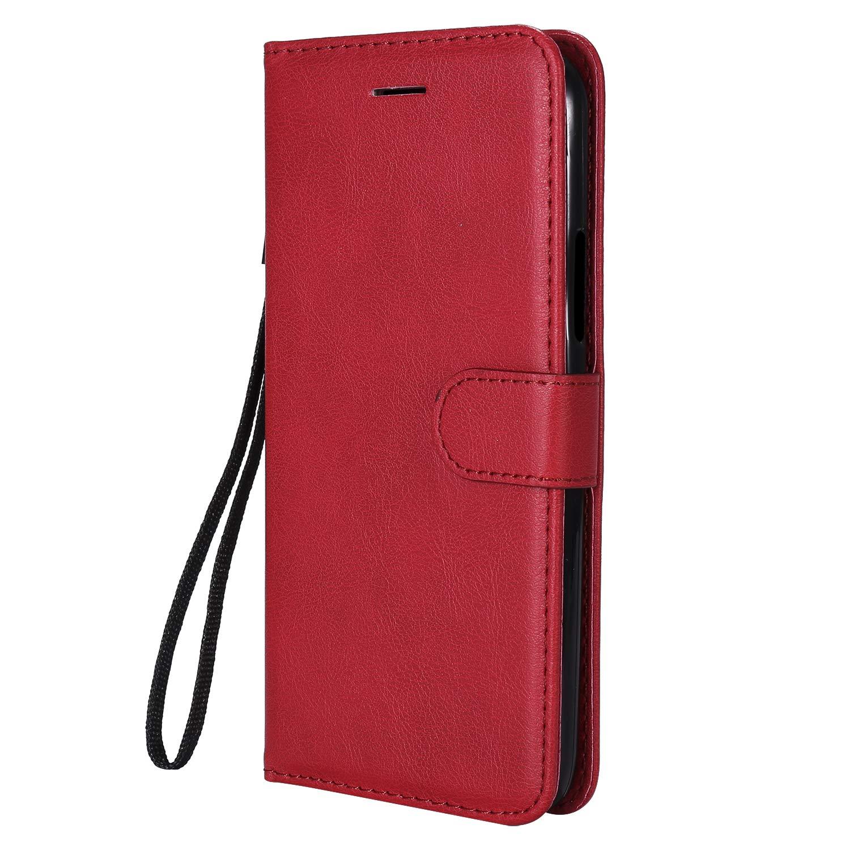 Lomogo Funda Moto G5S Plus, Funda de Cuero con Cartera para Tarjetas y Cierre Magnetico Soporte Plegable Carcasa Libro Antigolpes para Motorola Moto G5SPlus - LOKTU23287 Oro Rosa
